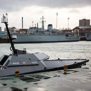 UK Navy Experimenting with New Autonomous Vessel