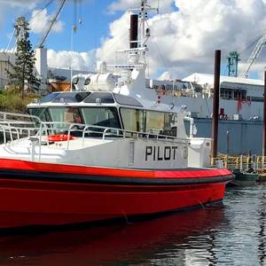 Vigor Delivers Los Angeles' New Pilot Boats