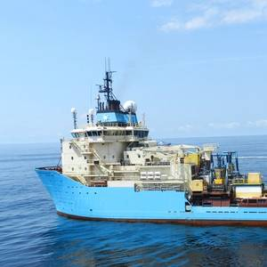 Maersk OSV Adds Fleet Xpress