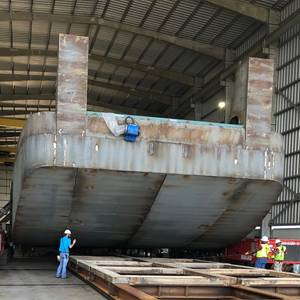 Main Iron Works Building New Towboats for Kirby
