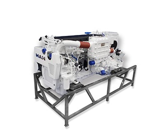 MAN Launches 800 hp Light-Duty Workboat Engine