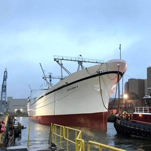 World's First Nuclear Ship Exits Drydock