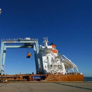 Boston's Conley Terminal Receives Two New RTG Cranes