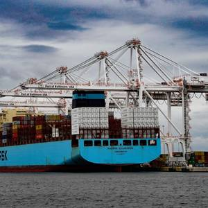 Port of Baltimore Sets Cargo Moves Record