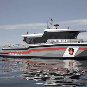 Metal Shark To Build Fireboat for Canaveral