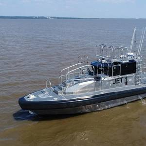 Metal Shark Delivers Two Pilot Boats to New Orleans