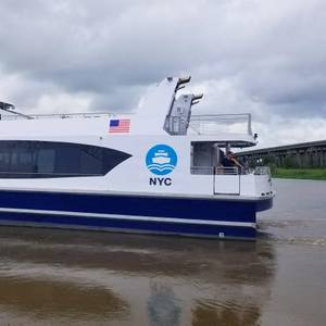 Metal Shark Delivers 22nd Vessel to NYC Ferry