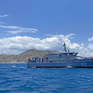Metal Shark Delivers Patrol Boat to the Dominican Republic