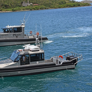 Two Newbuilds Delivered to Virgin Islands Port Authority