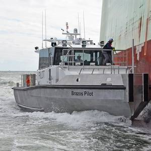 New Pilot Boat Delivered to Brazos Pilots Association