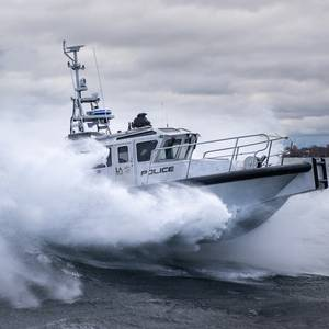 MetalCraft Delivers Patrol Boat to Port of LA