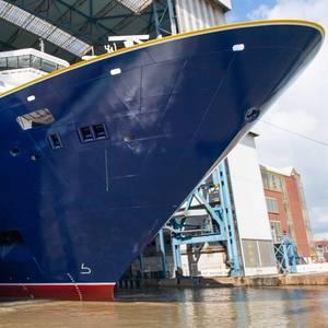 Video: Meyer Werft Floats Out Spirit of Adventure