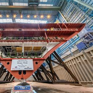 Meyer Werft Lays Keel for New Disney Cruise Ship