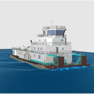 Conrad to Build 'MiNO 6000' Towboat