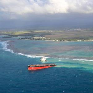 Mauritius Arrests Captain of the Stricken Wakashio
