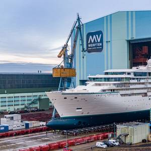 Crystal Endeavor Launch Delayed Due to COVID-19 Shipyard Closure