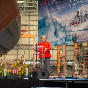 MV WERFTEN Lays Keel for Crystal Endeavor