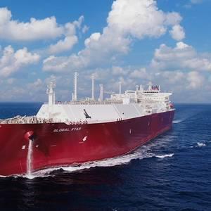 DSME Delivers Newbuild LNG Carrier to Nakilat