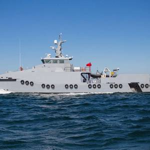 New Vessel Launched for Gulf of Guinea Security Ops