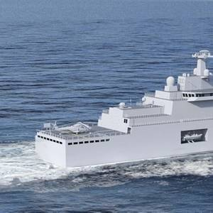 MAN Powers French Naval Logistic Vessels