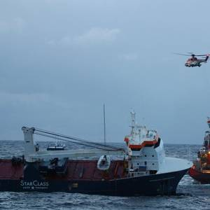 Norway Says Drifting Cargo Ship Secured, No Longer at Risk of Grounding