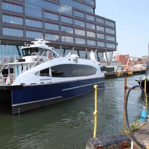 New Larger Ferry Arrives in NYC