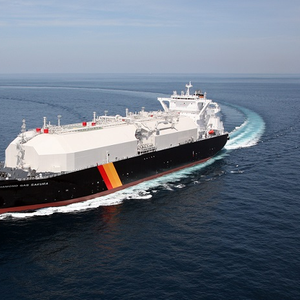 Naming Ceremony for Cameron Project LNG Carrier