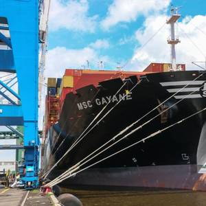 U.S. CBP Seizes MSC Gayane following Cocaine Bust
