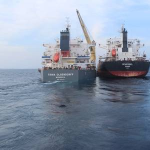 Oldendorff Conducts Trial Transshipment in India