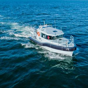 New Survey Boat Launched for South African Navy