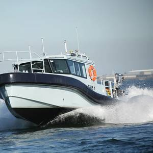 Paramount Launches another Boat for S. African Navy