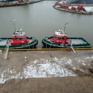 Great Lakes Towing Christens New Tug Pair