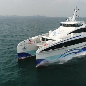 Perkins Provides Aux Power to Majestic Ferries' Newbuilds