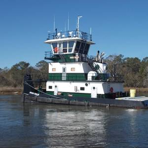 Plimsoll Marine Takes Delivery of Pushboat Rock Solid
