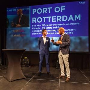 Rotterdam Port Contracts Four PortXL Start-ups