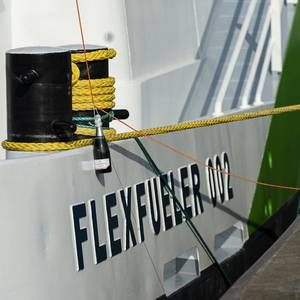 New LNG Bunker Ship Christened in Antwerp
