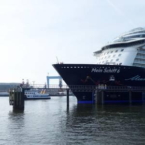 Mein Schiff 6 Makes Maiden Call in Kiel