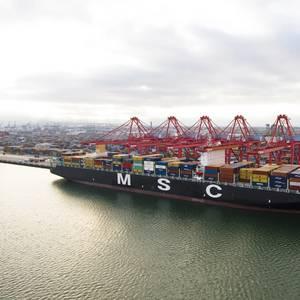 Long Beach Approves MSC's Bid for Hanjin Terminal