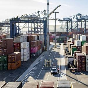Port of Los Angeles Starts Giving COVID-19 Vaccinations