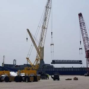 RTG Cranes Roll at Port of Indiana-Burns Harbor