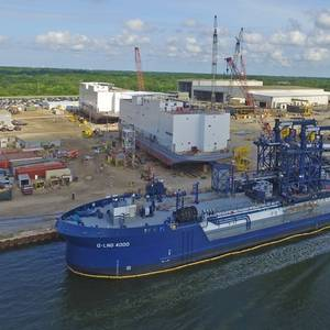 US' First LNG ATB Ready for Service