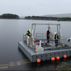 Reid Gantry to Install Floating Solar System