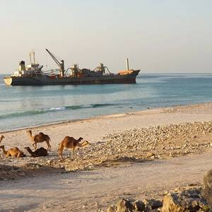 Grounded Bulker Refloated off Oman