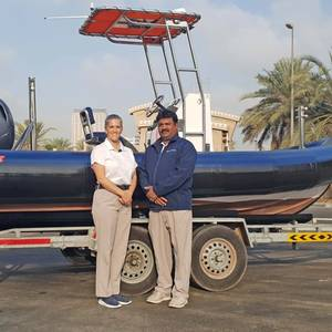 Ribcraft Delivers Marina Operations Support RIB