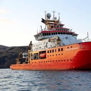 Two Injured in RRS Sir David Attenborough Lifeboat Drill