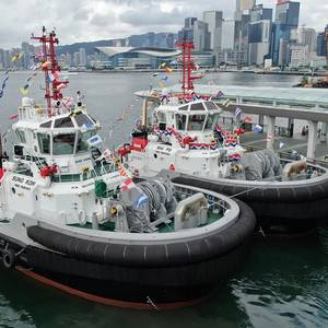 Two RAstar 3200 Vessels Christened in HK