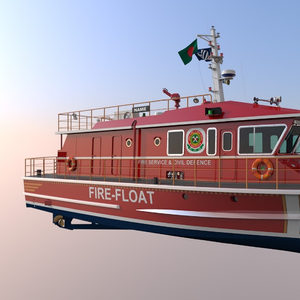 18 Meter Fire-Floats for Bangladesh