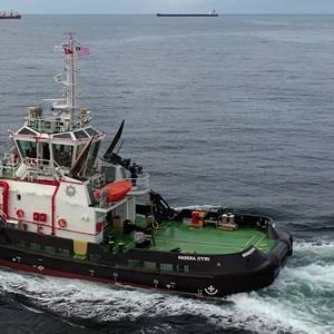 Med Marine Builds New Tug for Israeli Coal Company