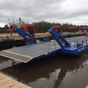 Unique Barge-ferry Delivered in Canada