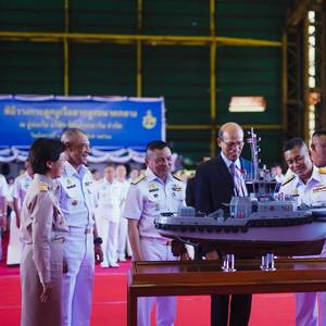Keel Laid for Royal Thai Navy Tug